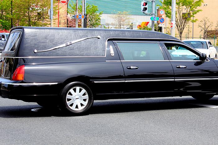 霊柩車のイメージ写真